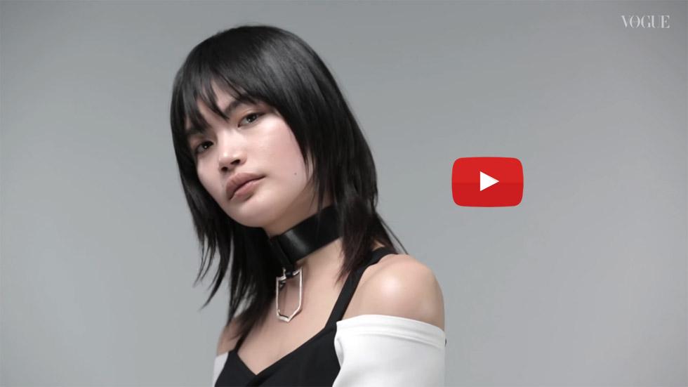 福士リナ – VOGUE JAPAN-Hair Trend Movie