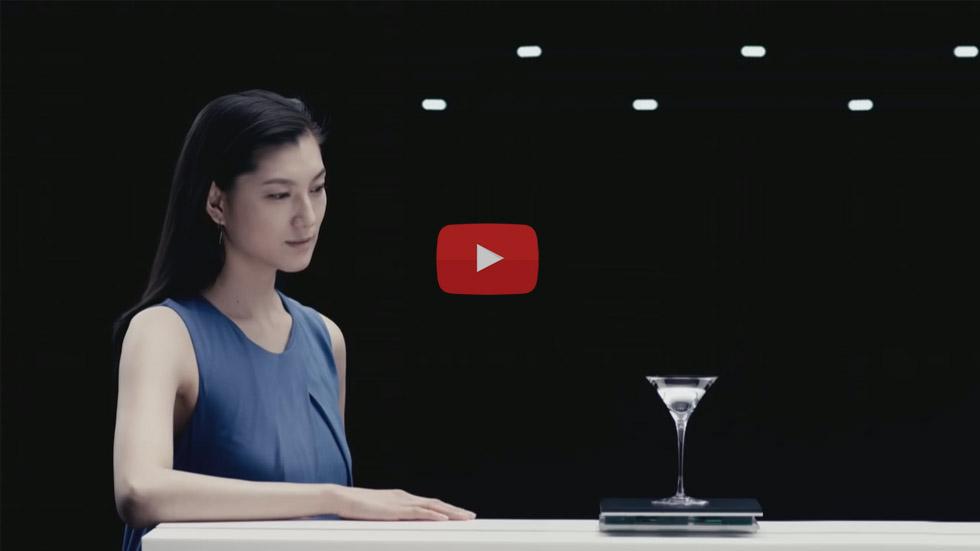 鮎美 – オムロンCM 制振制御篇