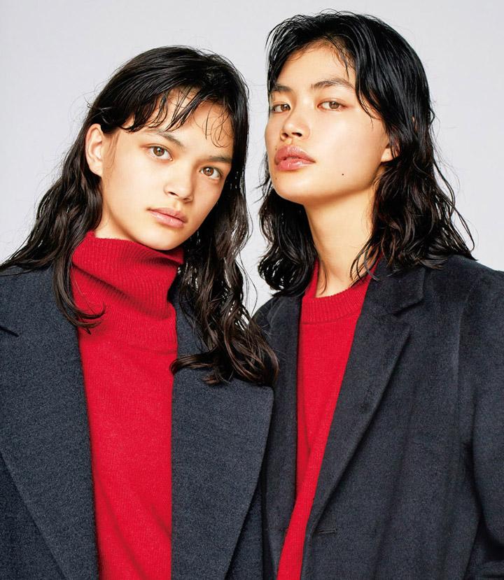 福士リナ,福士マリ – niko and…広告