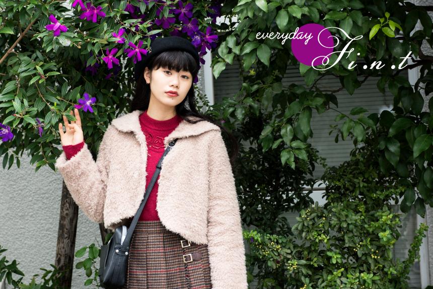 安藤百花 – 装苑ONLINE everyday F i.n.t