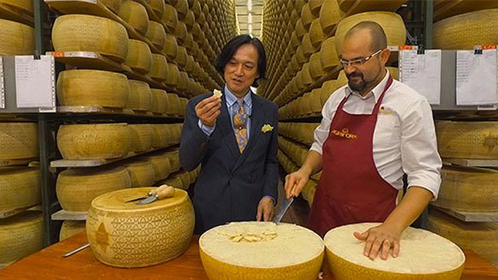 中村孝則 – 2017.12 BS日テレ 特番 ヨーロッパの豊かな食と大地を訪ねて