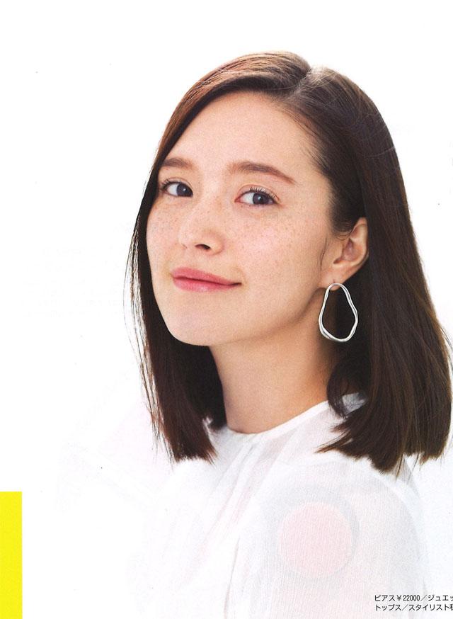 松島エミ – BAILA 2018.6月号