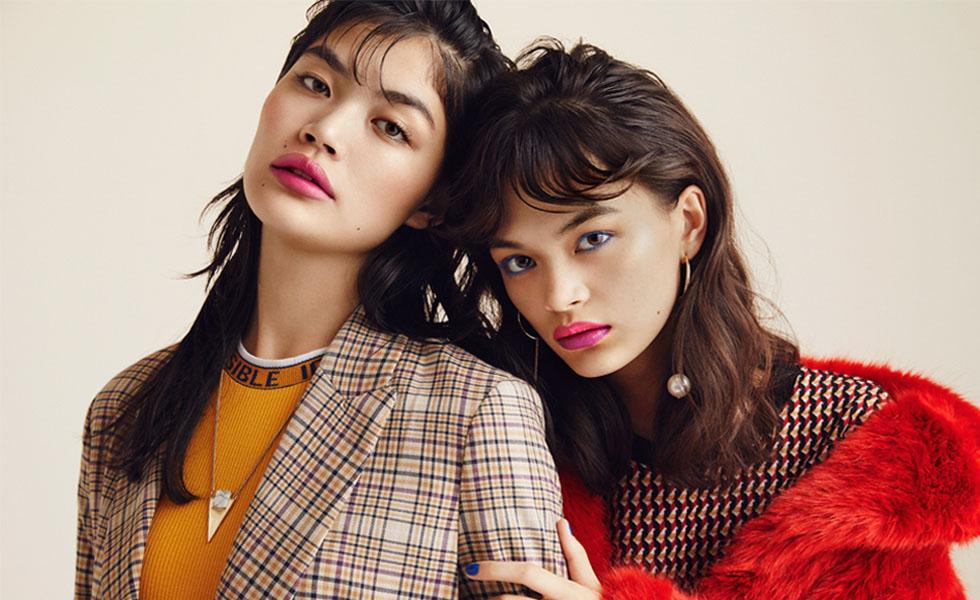 福士リナ,福士マリ – ELLEgirl TRENDY LIPSTICKS 2018.9月