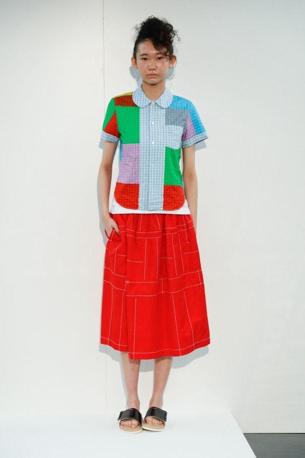 丹保ふぶき – tricot COMME des GARÇONS 2019SS