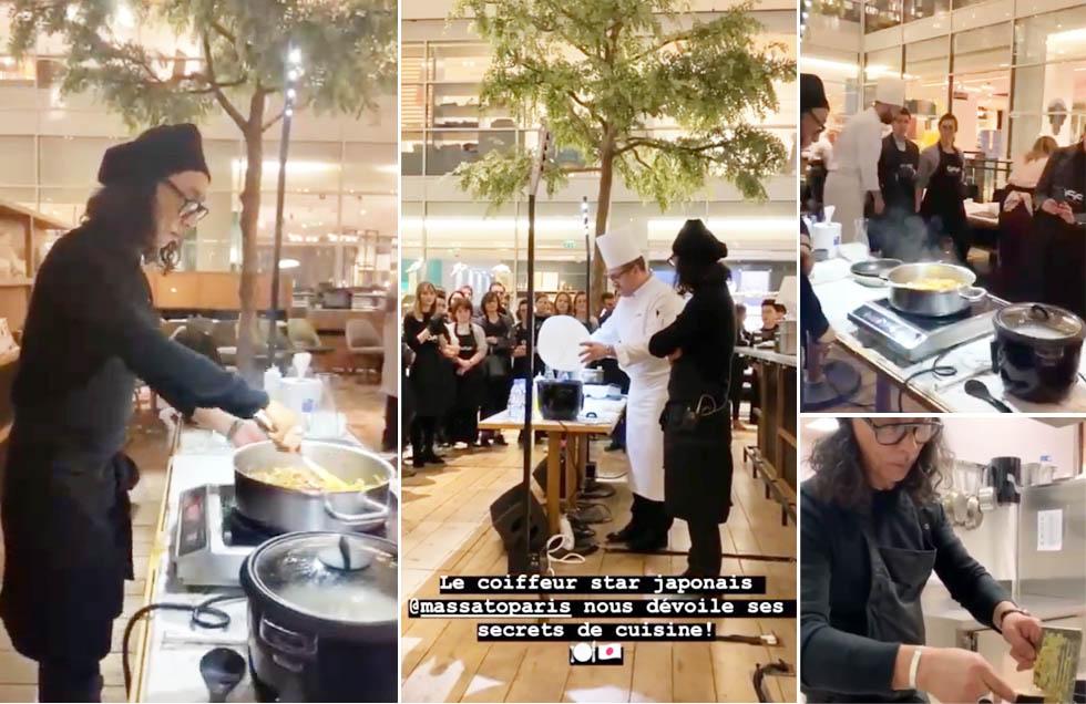 MASSATO – Les OFF Cours de cuisine japonaise avec Massato 2020.feb Report