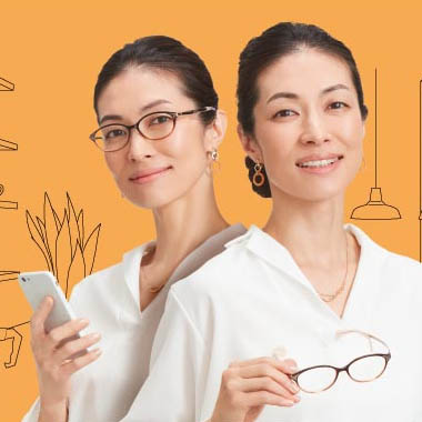 水越日麻 – CHARMANT 広告