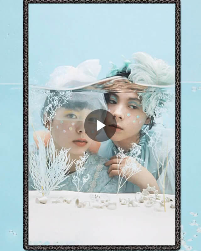 ニックス阿美沙 – 花椿 ユリキュンカード – IIIアクアマリン